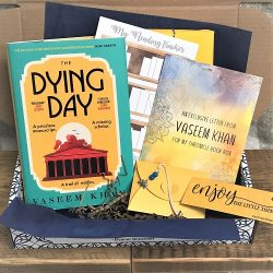 The Dying Day by Vaseem Khan July 2021 crime book box 3